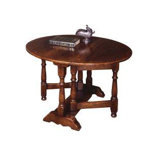 Small Wooden Coffee Table - Solid Oak Coffee Tables - Tudor Oak, UK