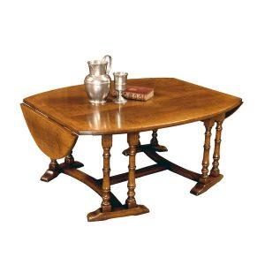 Large Solid Wood Coffee Table - Oak Coffee Tables - Tudor Oak, UK