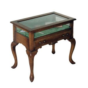 Wooden Display Table - Oak Wine & Display Cabinets - Tudor Oak, UK