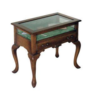 Wooden Display Table - Oak Wine & Display Cabinets - Tudor Oak, UK