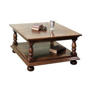 Small Oak Coffee Table - Solid Oak Coffee Tables - Tudor Oak, UK