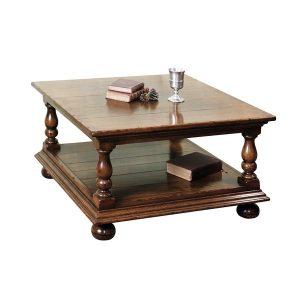 Small Oak Coffee Table - Solid Oak Coffee Tables - Tudor Oak, UK