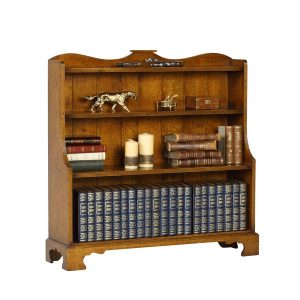 Oak Bookshelves - Solid Oak Bookcases & Bookshelves - Tudor Oak, UK