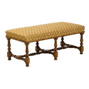 Upholstered Coffee Table - Solid Oak Coffee Tables - Tudor Oak, UK