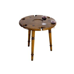 Small Oak Drinks Table - Solid Oak Coffee Tables - Tudor Oak, UK