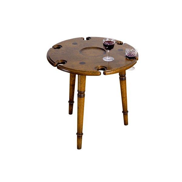 Small Oak Drinks Table - Solid Oak Coffee Tables - Tudor Oak, UK