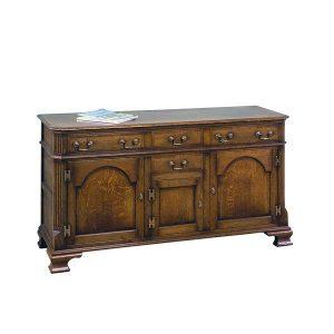 Dining Room Sideboard - Solid Oak Sideboards - Tudor Oak, UK