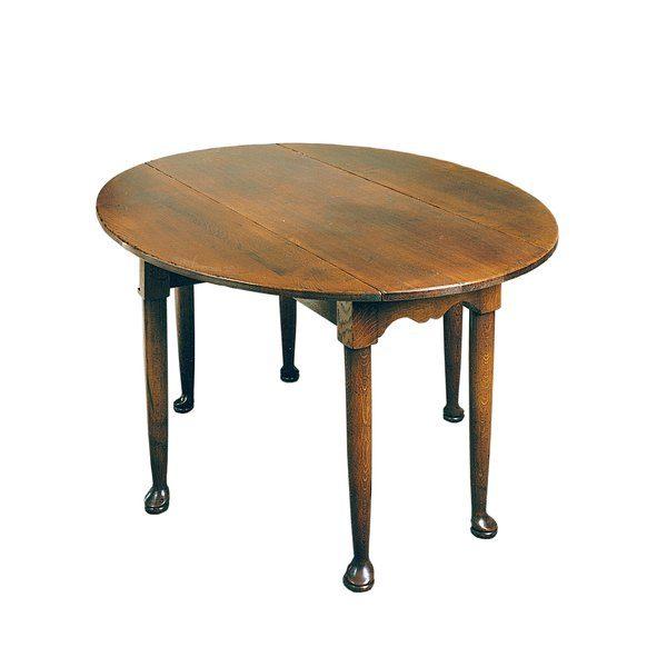 English Oak Folding Table - Solid Oak Dining Tables - Tudor Oak, UK