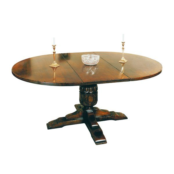 Round Oak Extending Dining Table - Oak Dining Tables - Tudor Oak, UK
