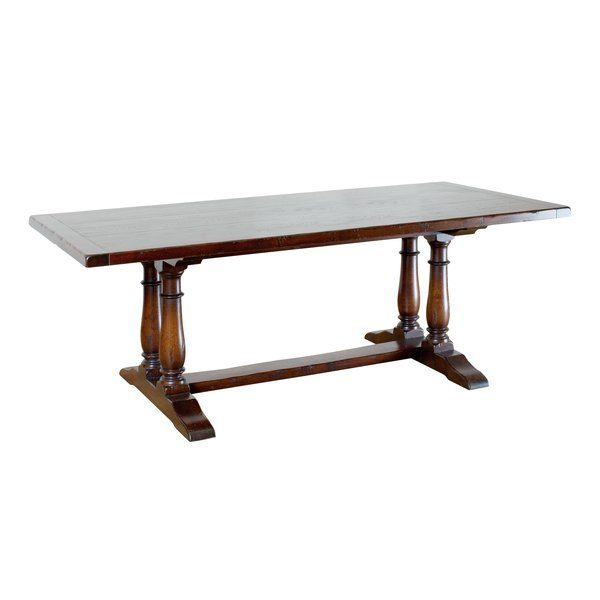 Rectangular Dining Table - Solid Oak Dining Tables - Tudor Oak, UK