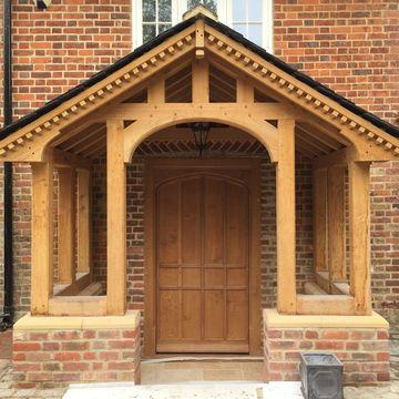 Bespoke Oak Doors - Internal & External - Any Style - Tudor Oak, Kent