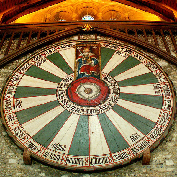 King Arthur's Table - Winchester Castle