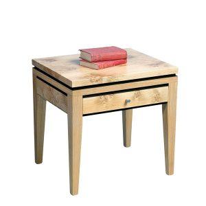 Light Oak Side Table - Modern Oak Furniture - Tudor Oak, UK