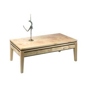 Light Oak Coffee Table - Modern Oak Furniture - Tudor Oak, UK