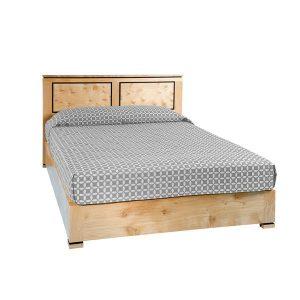 Light Oak Bed: Double to Super King - Modern Oak Furniture - Tudor Oak