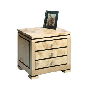 Light Oak Bedside Table - Modern Oak Furniture - Tudor Oak, UK