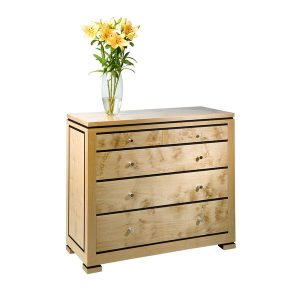 Light Oak Chest of Drawers - Modern Oak Furniture - Tudor Oak, UK