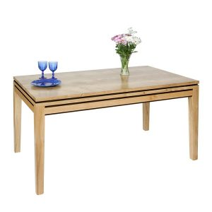 Light Oak Dining Table - Modern Oak Furniture - Tudor Oak, UK