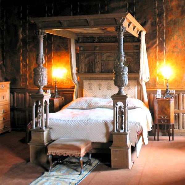 Berkeley Castle Four Poster Bed (Image: PA)
