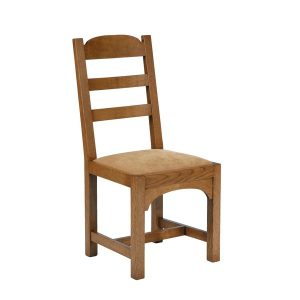 Rustic Dining Chairs - Modern Oak Furniture - Tudor Oak, UK