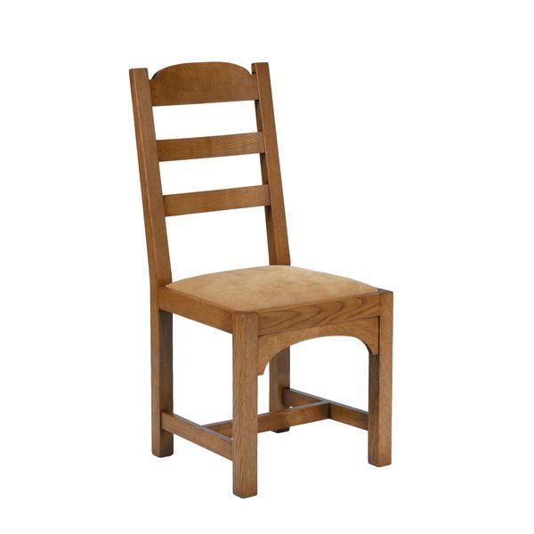 Rustic Dining Chairs - Modern Oak Furniture - Tudor Oak, UK