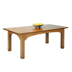 Rustic Dining Table - Modern Oak Furniture - Tudor Oak, UK